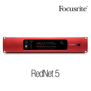 [Focusrite] RedNet 5 RedNet system to Pro Tools HD Ethernet Audio Interfaces 수입정품 서울시내 무료퀵배송