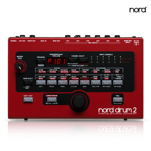 [Nord] Nord Drum 2 - 6 part Percussion Synthesizer